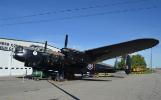 Avro Lancaster FM159 - reduced size