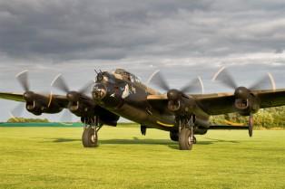 Avro Lancaster Just Jane - IBCC image - reduced