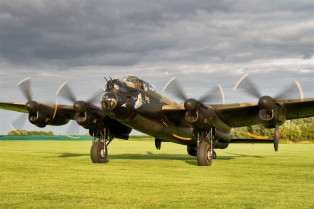 Avro Lancaster Just Jane - IBCC image - reduced