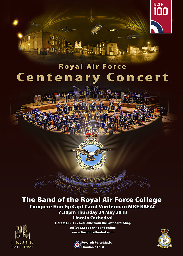 RAF 100 Concert Poster